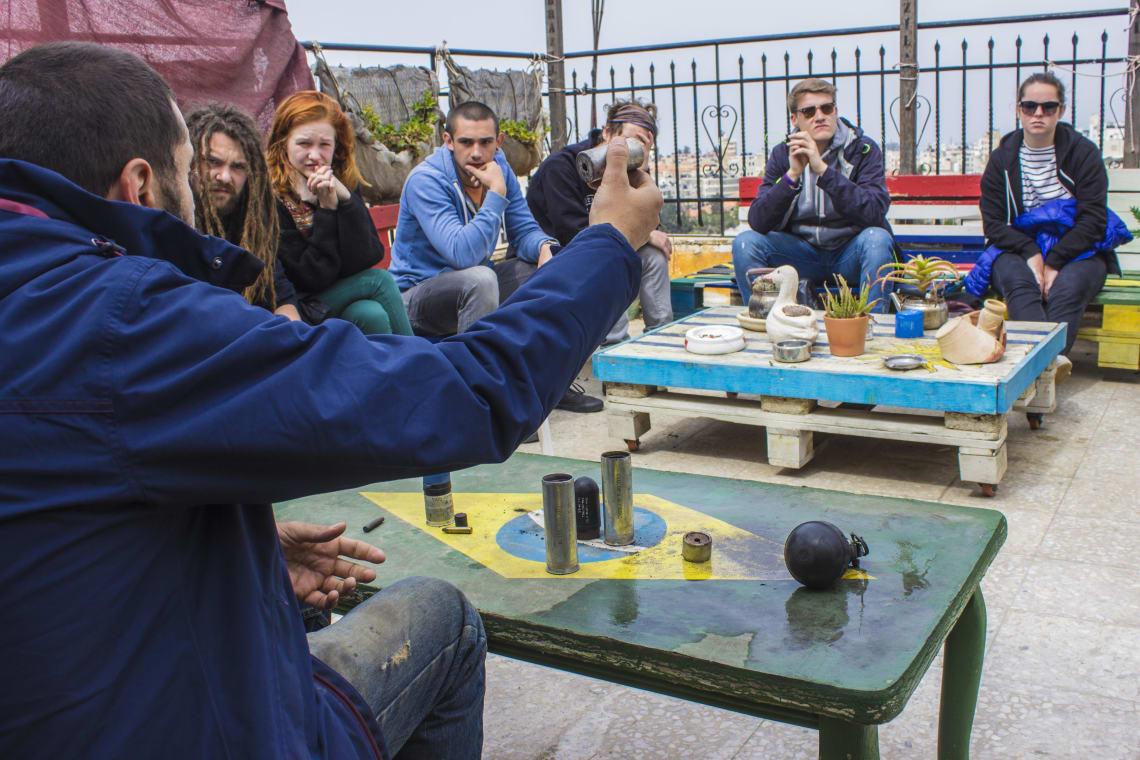 orientações no Hostel in Ramallah