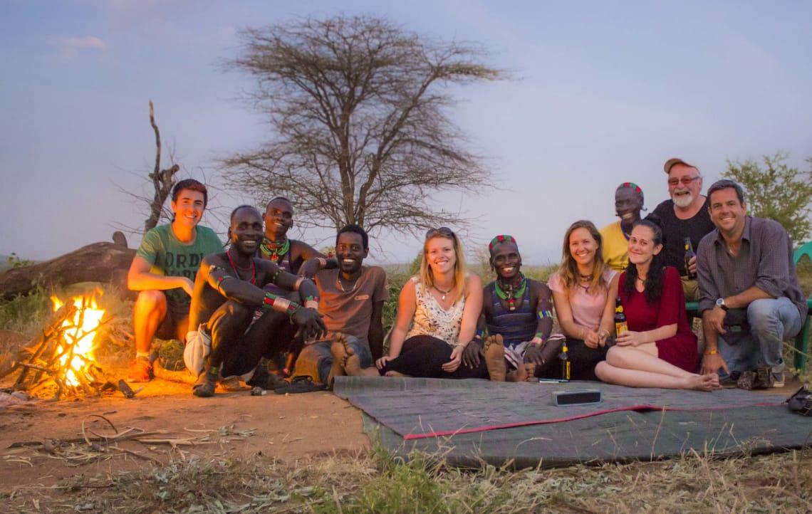 Viajar como voluntário me permitiu integração com membros da tribo Hamar, na Etiópia