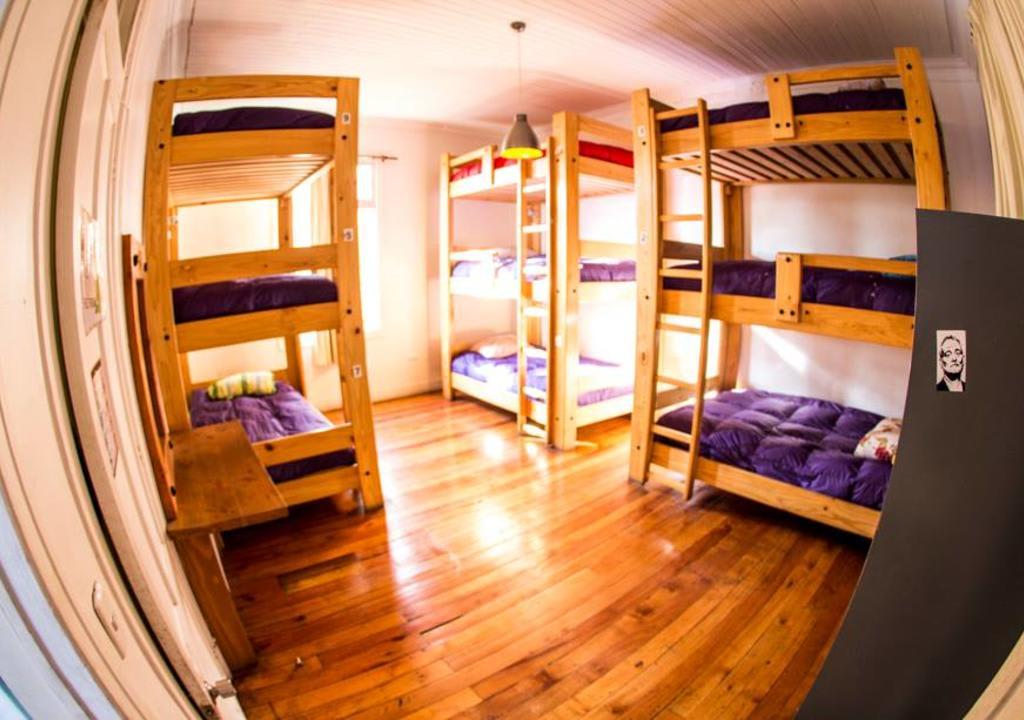 cama extremamente confortável do hostel