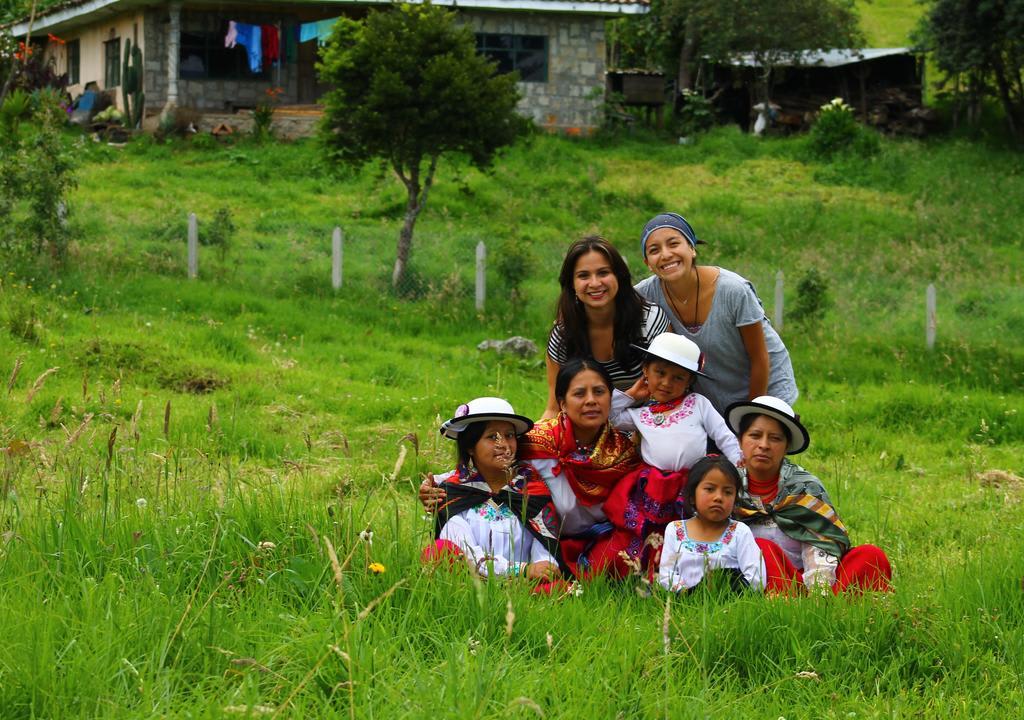 Trabalho voluntário no Equador