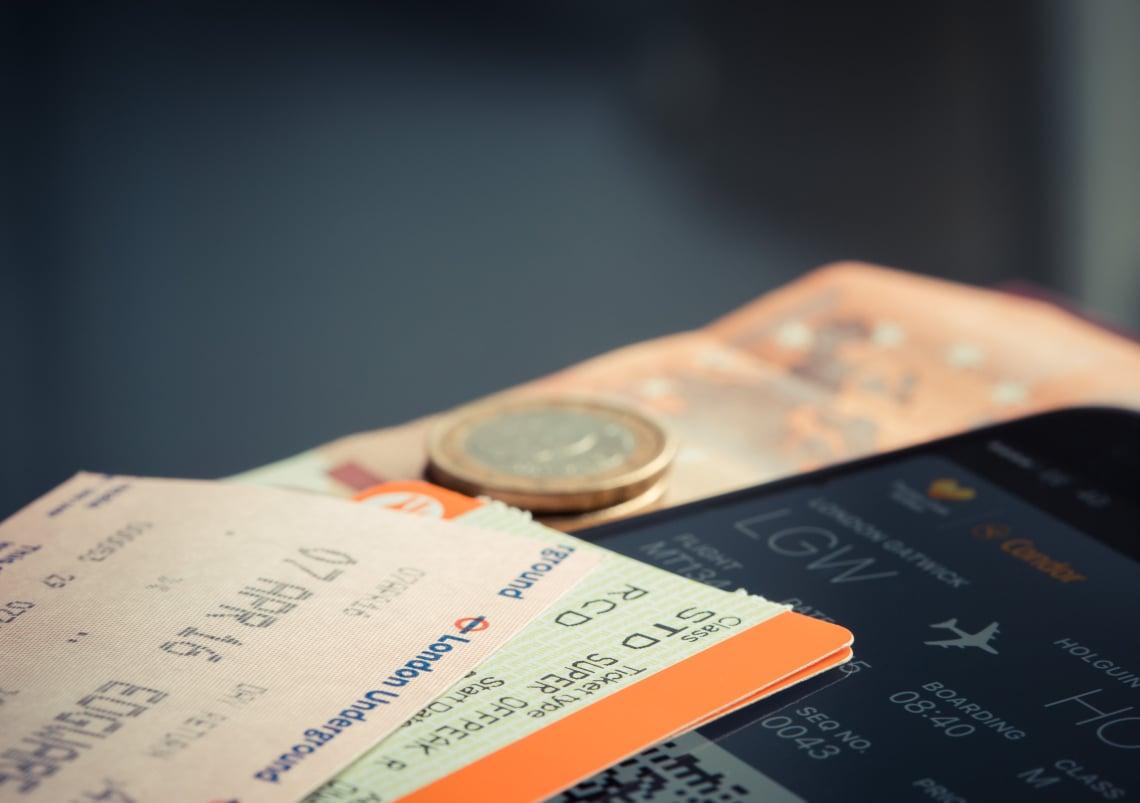 As passagens aereas são despesas importantes na hora de calcular gastos de viagem