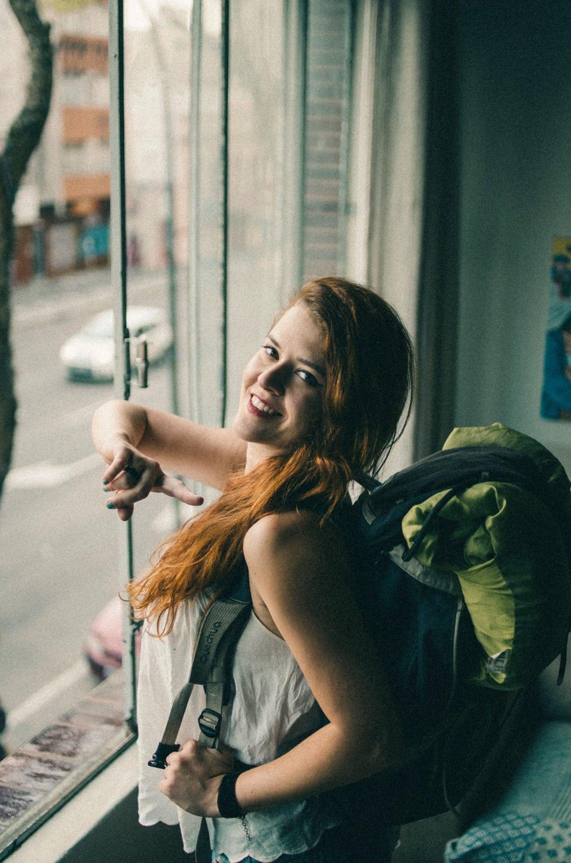Juliana Arthuso do blog Virando Gringo em viagem de intercâmbio pela Europa