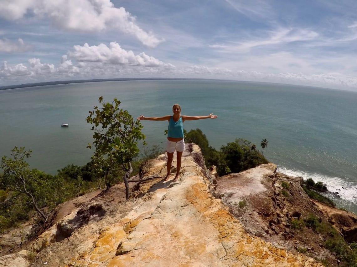 a worldpacker Claudia Suares viajou o Brasil por 1 ano