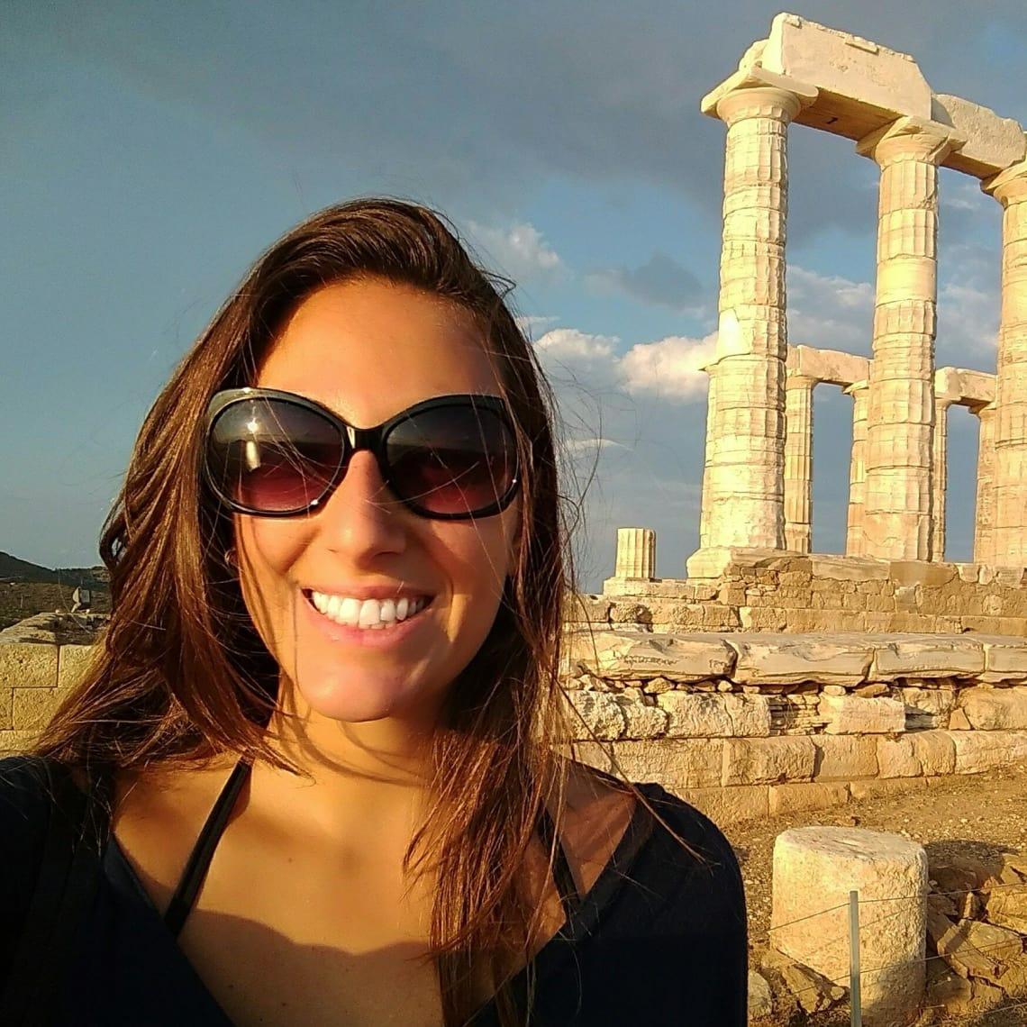 Estela Badajoz fez um ano sabático pela Europa com a Worldpackers