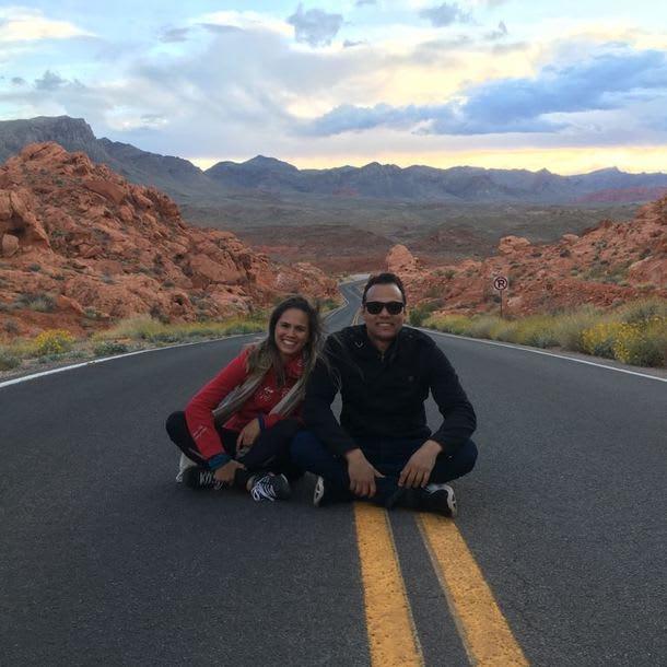 Izabela Horste viaja em casal pelos Estados Unidos com a Worldpackers