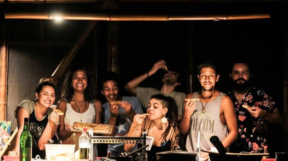 Cómo fue vivir un mes gratis en una isla paradisíaca de Brasil - worldpackers- Eco hostal brasil