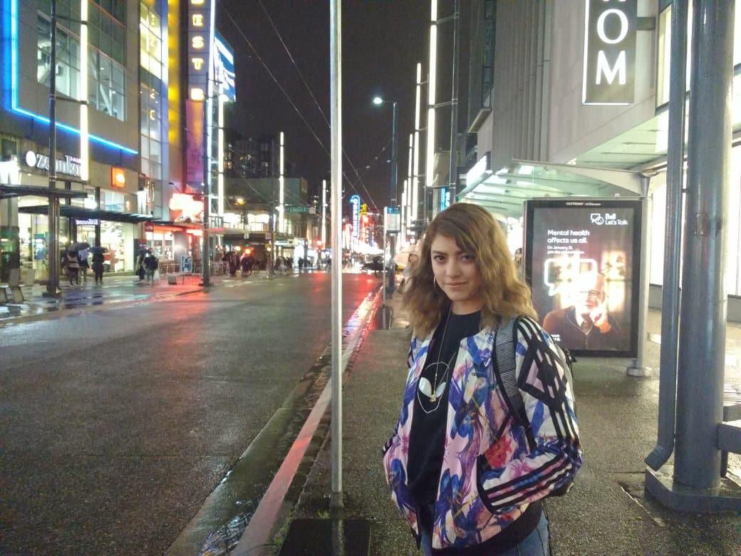 Mariana Galvez viajera de mexico
