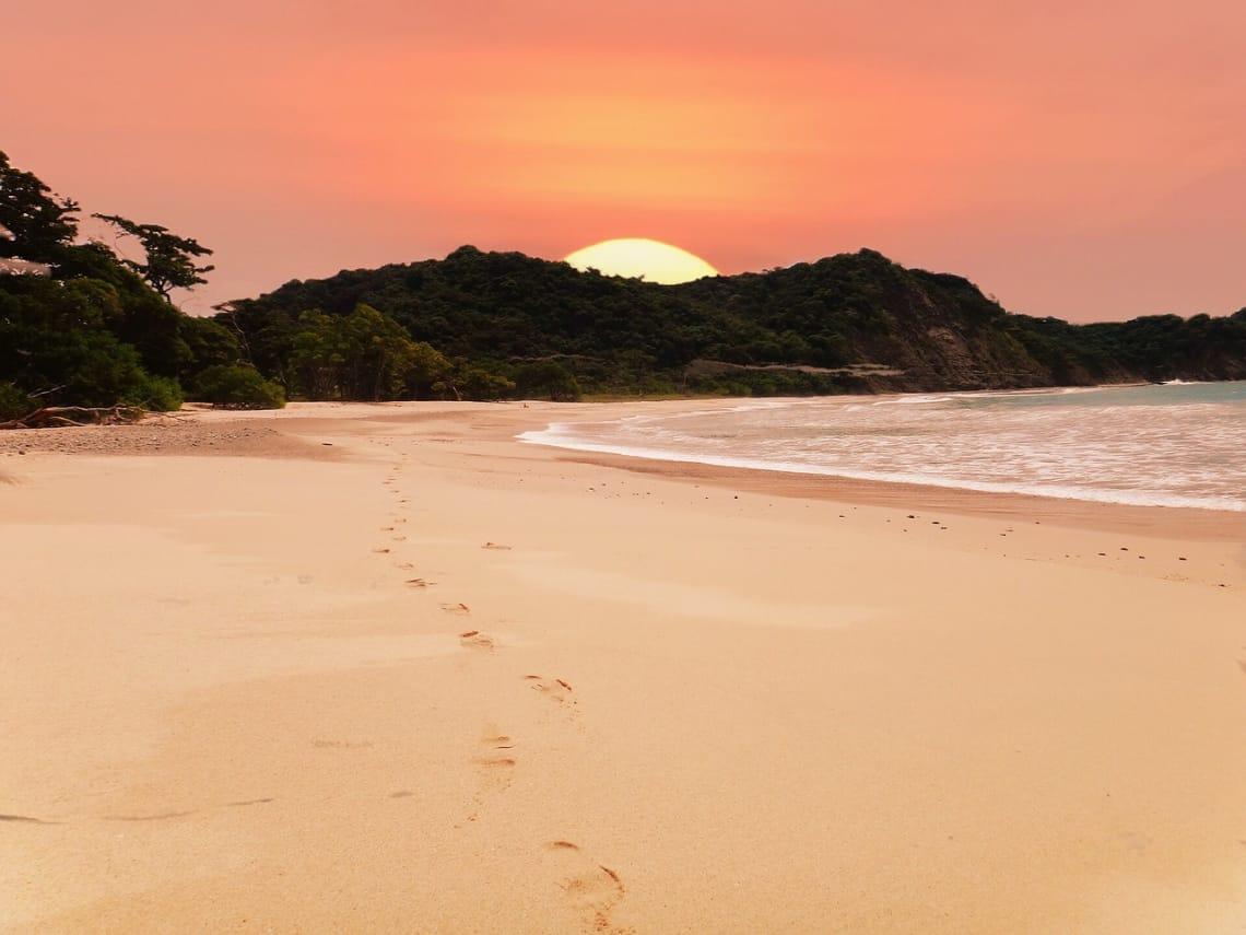 Puesta del sol en Costa Rica