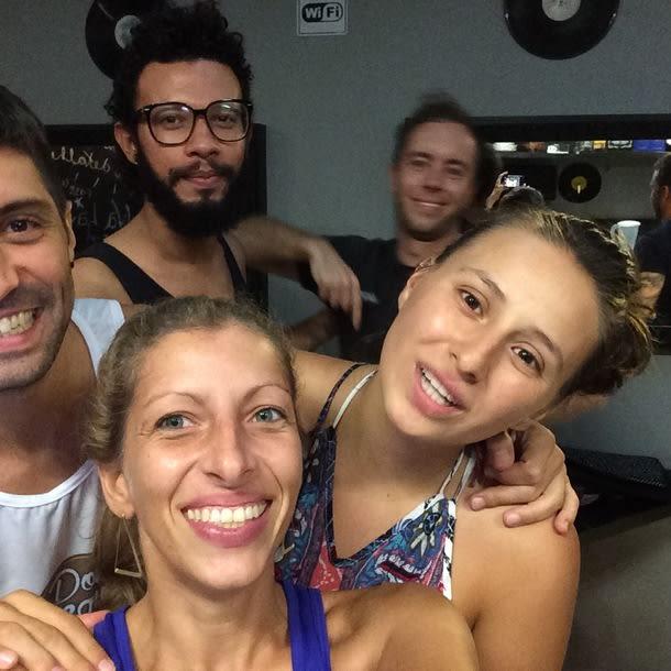 Amigos en The Hostel Salvador