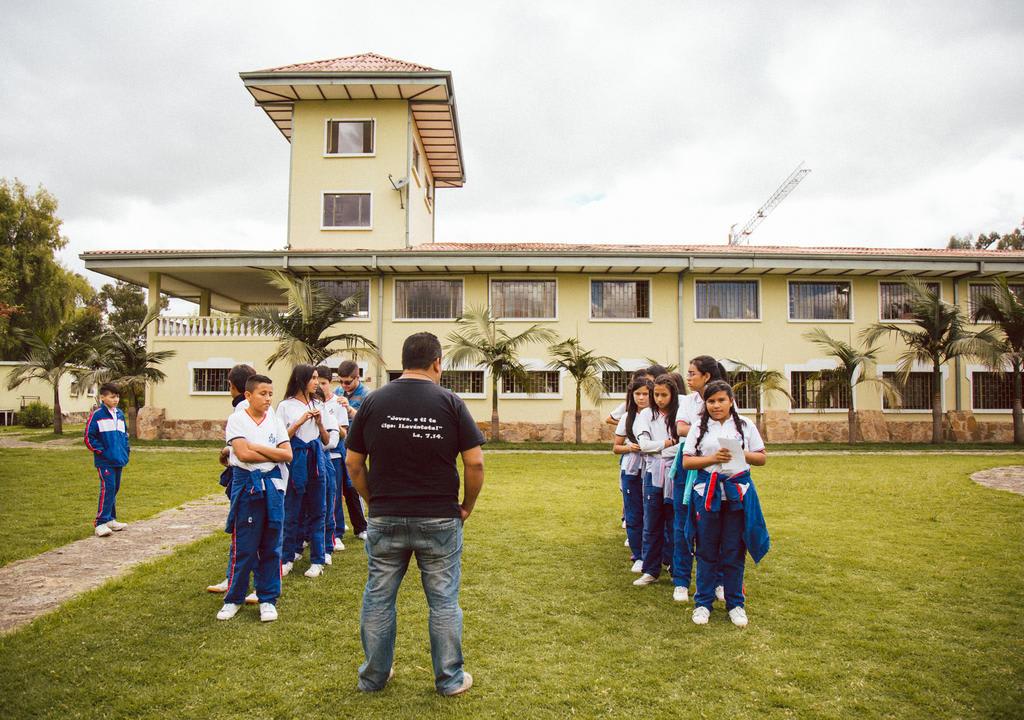 Uma outra opção de trabalho voluntário na América do Sul na Colômbia