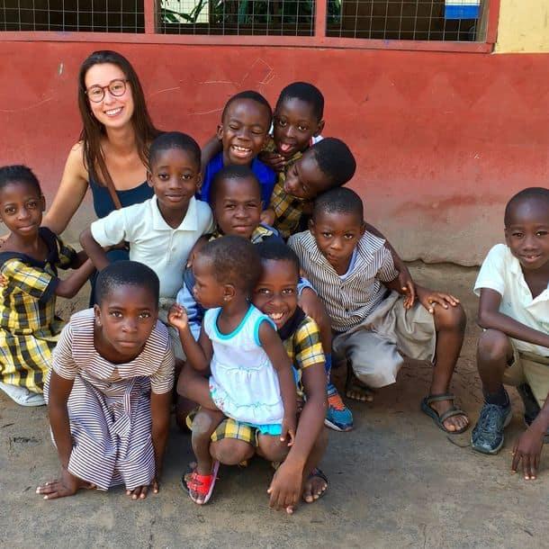 Experiencia social como worldpacker en Ghana