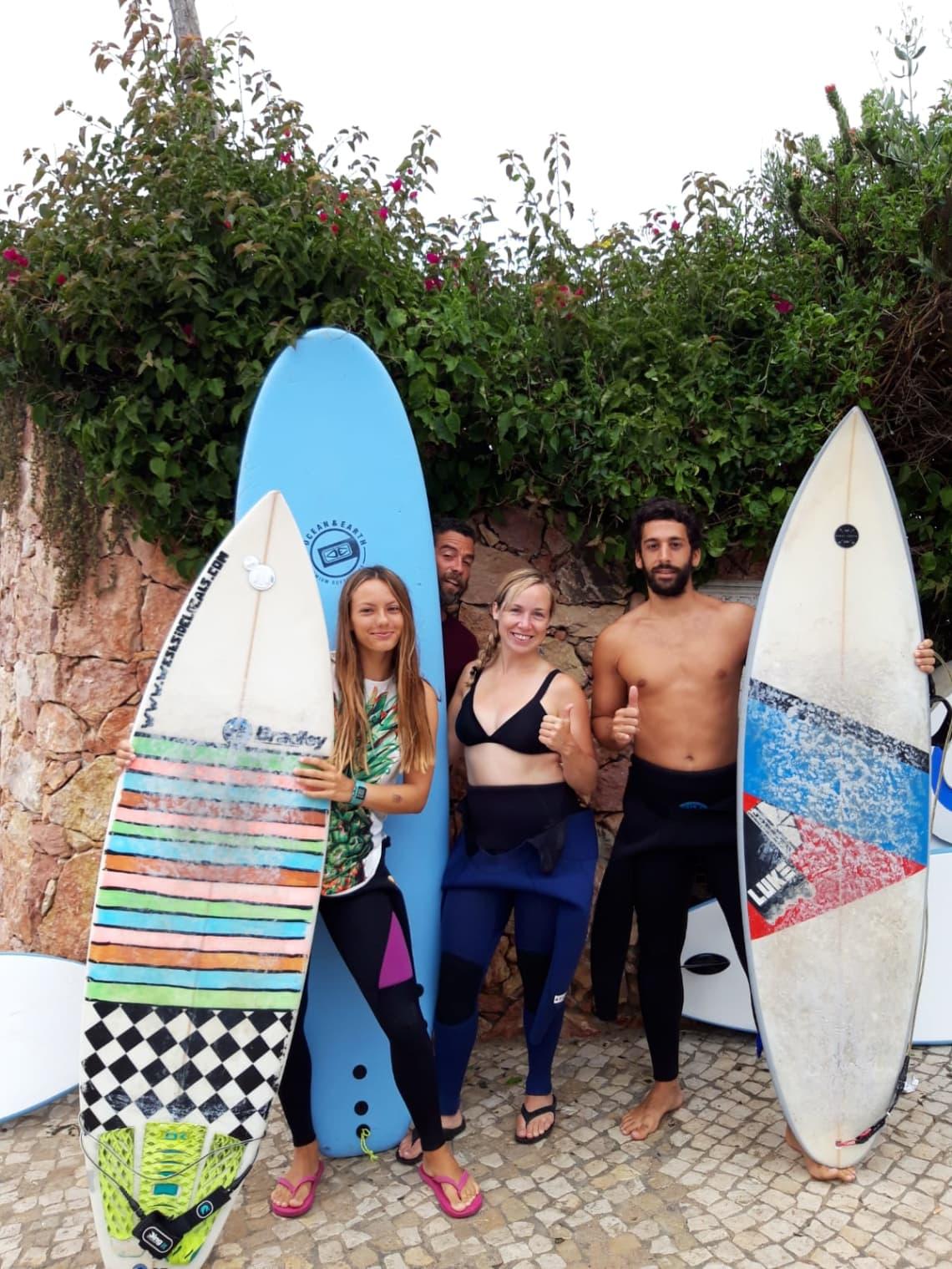 Voluntariando y surfeando en Portugal con 7 euros al día con Worldpackers -Marie-Eve Leclerc