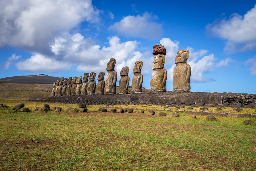 Ilha de Páscoa, Chile.
