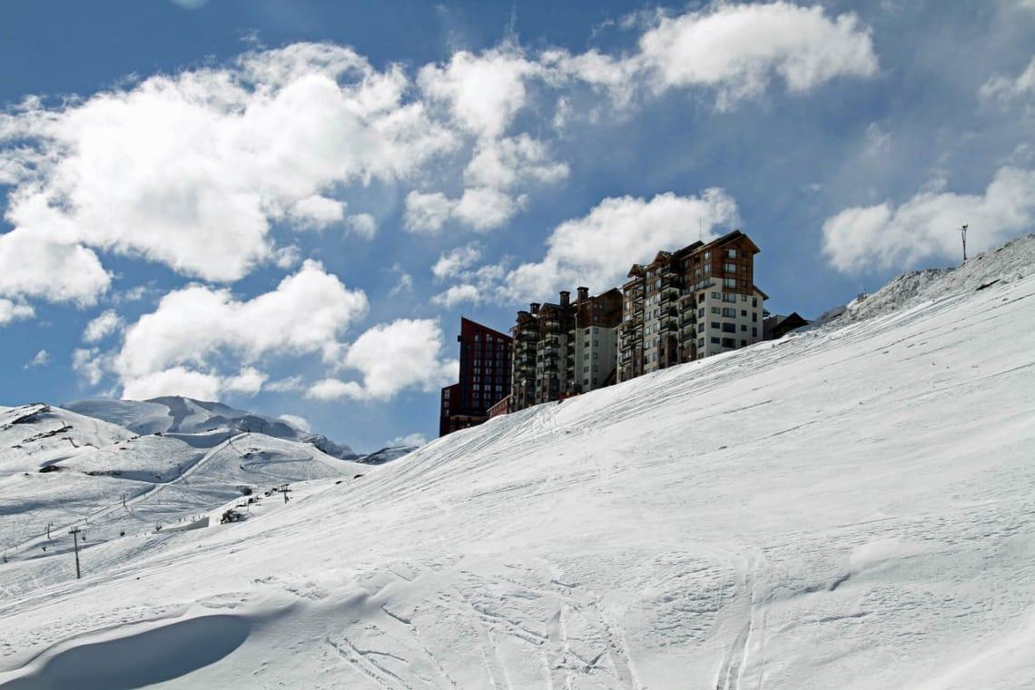 Valle Nevado, estação de esqui, Chile.