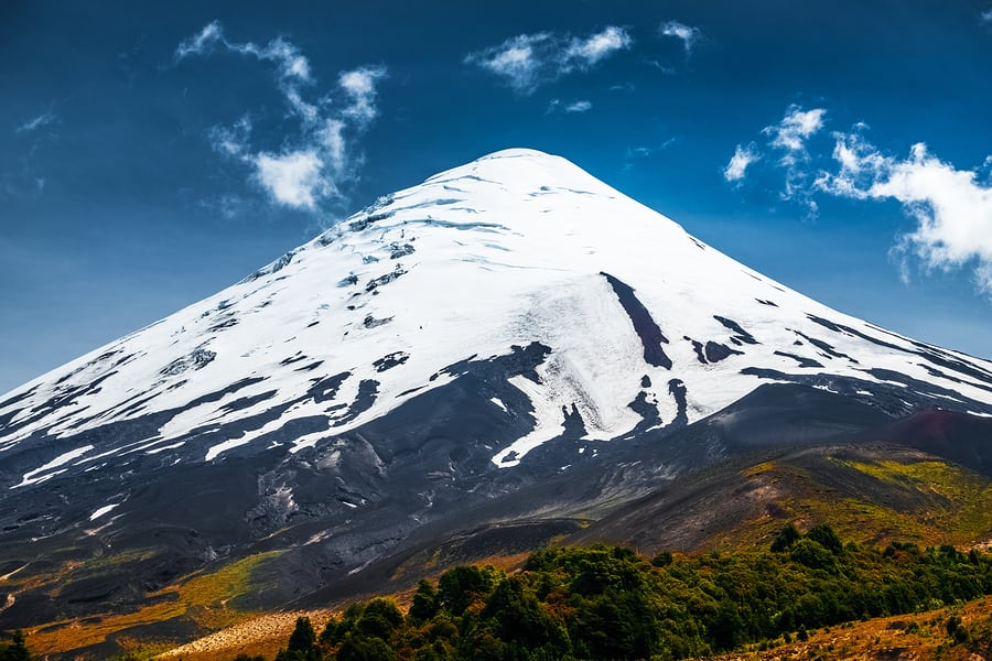 Vulcão Osorno, Chile.