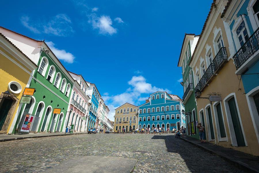 Pelourinho, Bahia, Brasil.
