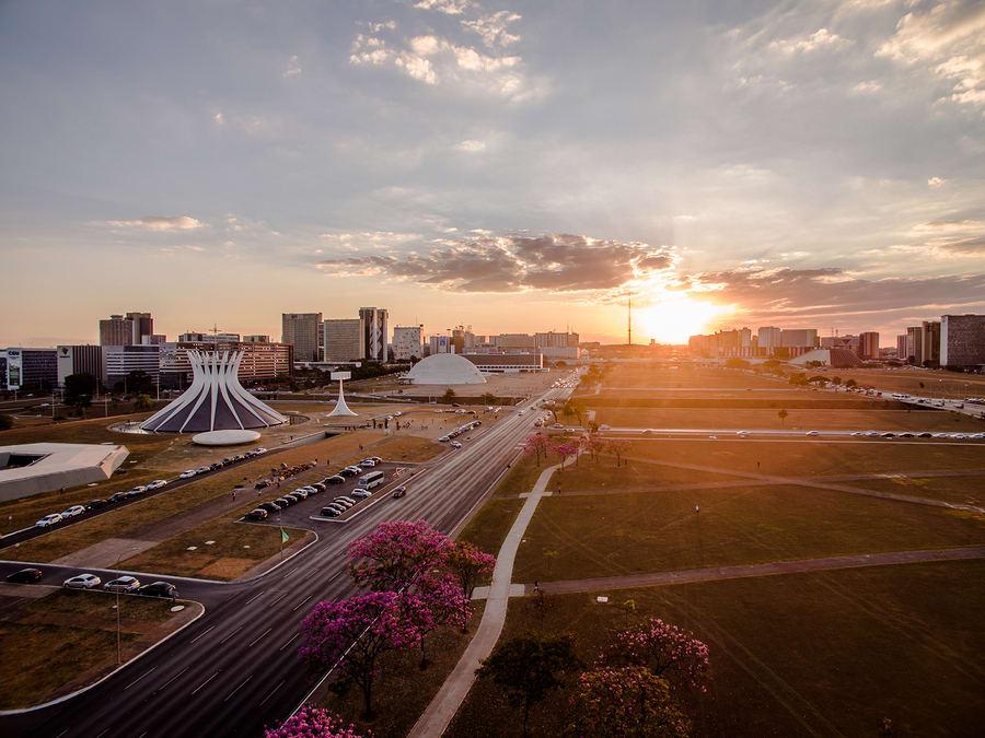 Brasília, capital do Brasil.