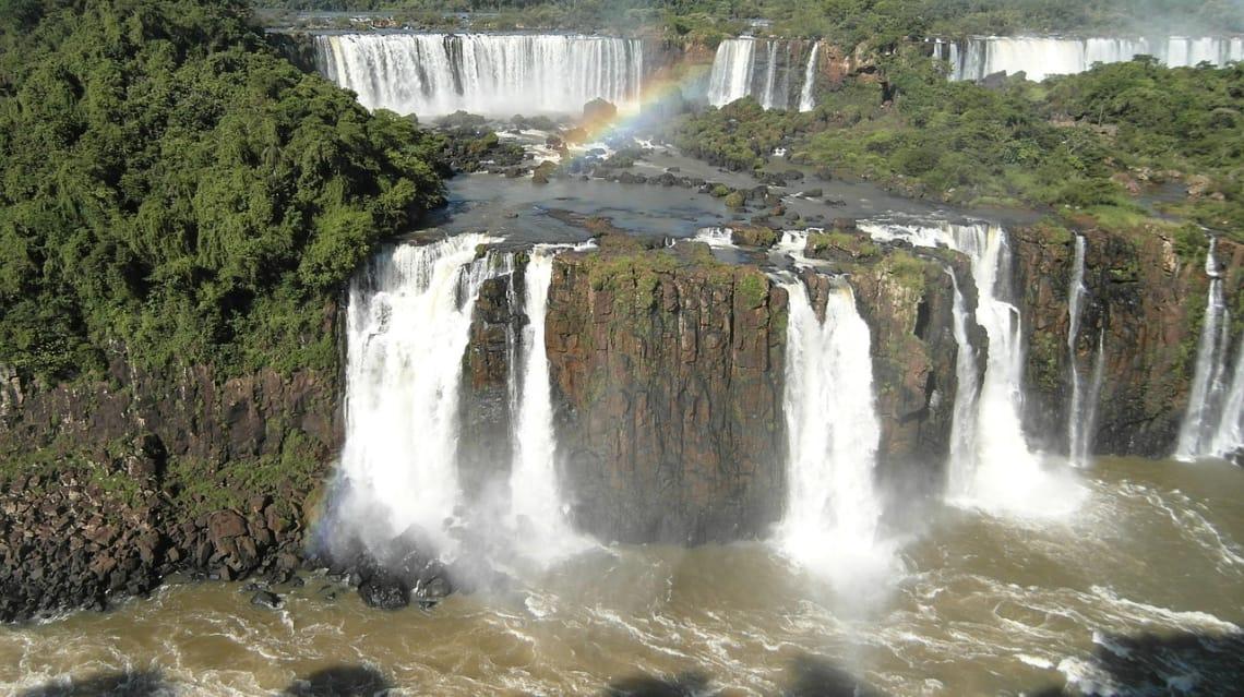 Cataratas do Iguaçu, fronteira entre Brasil, Argentina e Paraguai