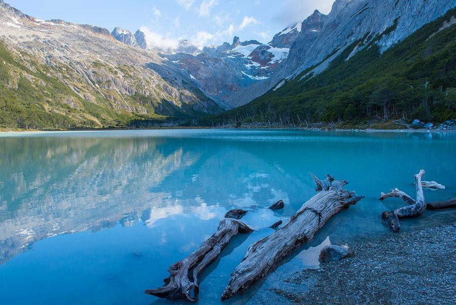 Laguna Esmeralda, Ushuaia, Argentina.