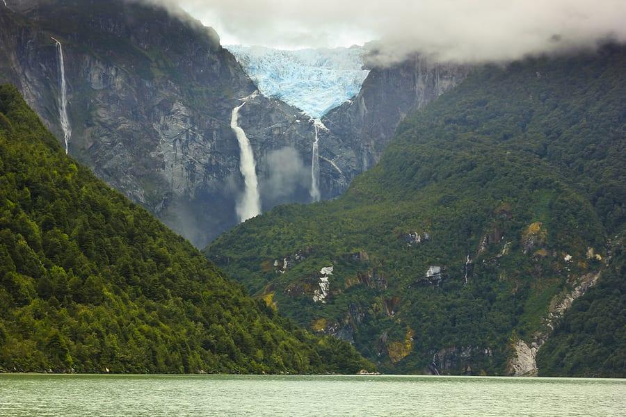 Ventisquero Colgante,Puyuhuapi, Chile.
