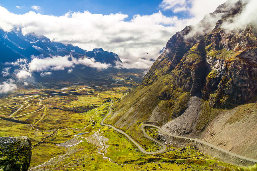 Estrada da morte, Parque Nacional Cotapata, Bolívia.