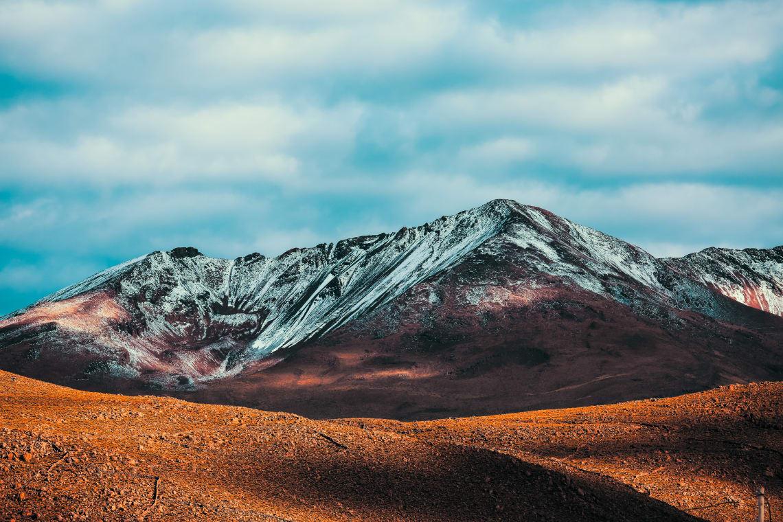 Montanha Chacaltaya, Bolívia.