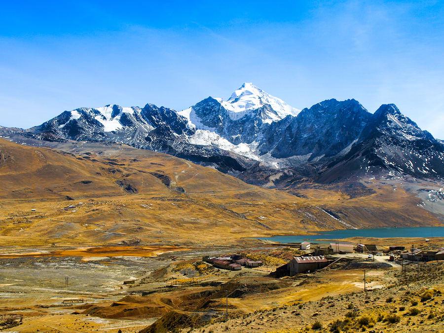 Montanha Huayna Potosí, Potosí, Bolívia.