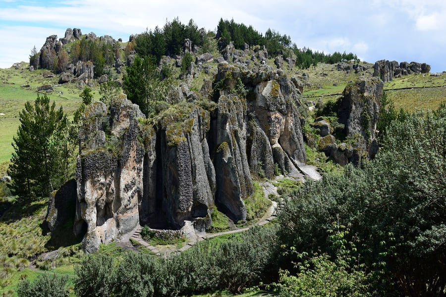 Pinturas Rupestres nas Cavernas de Cajamarca