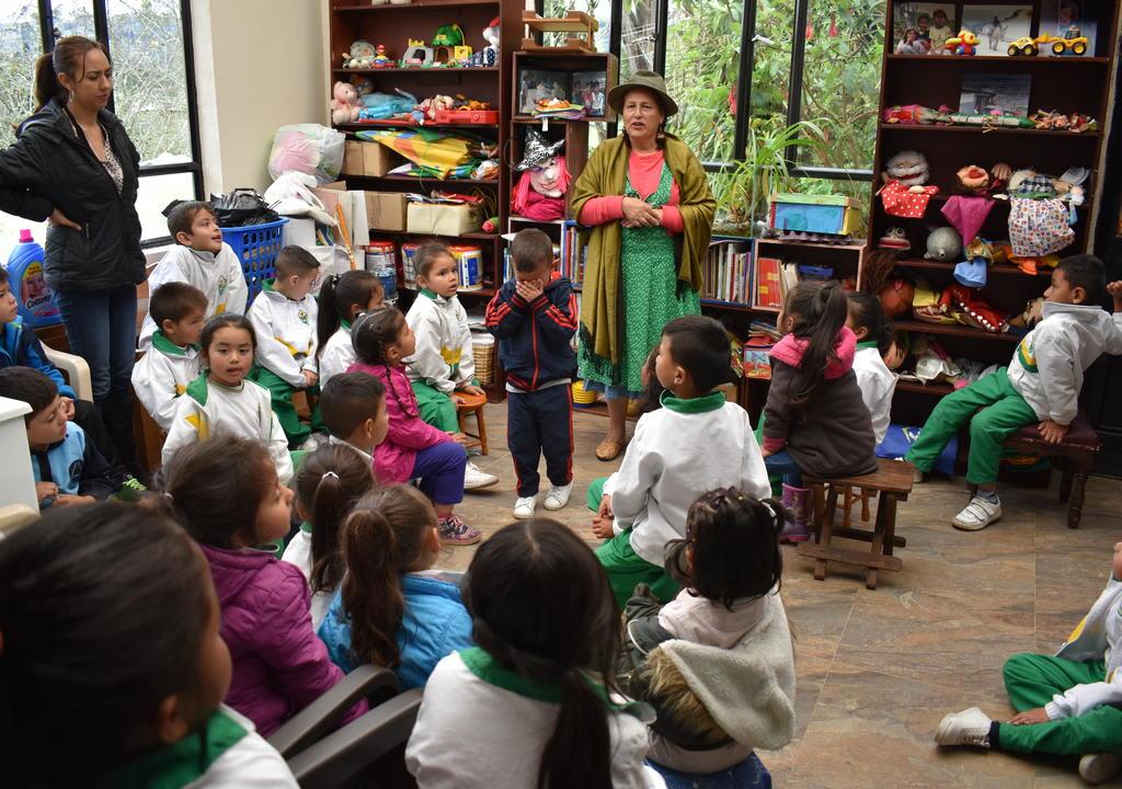 Trabajo voluntário en Colombia