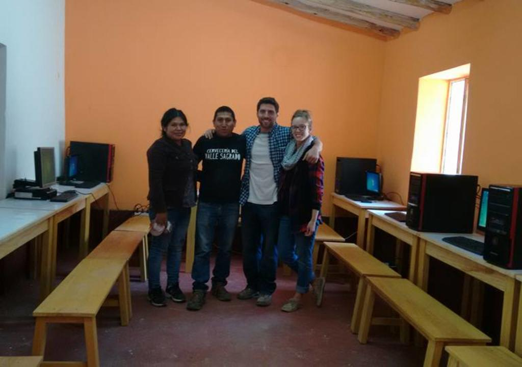 Trabajo voluntário en Peru