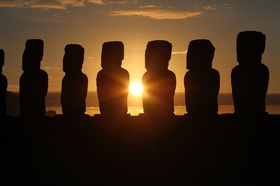 Isla de Pascua, uno de los principales destinos de Sudamerica