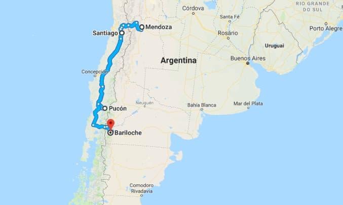 Roteiro América do Sul para casais