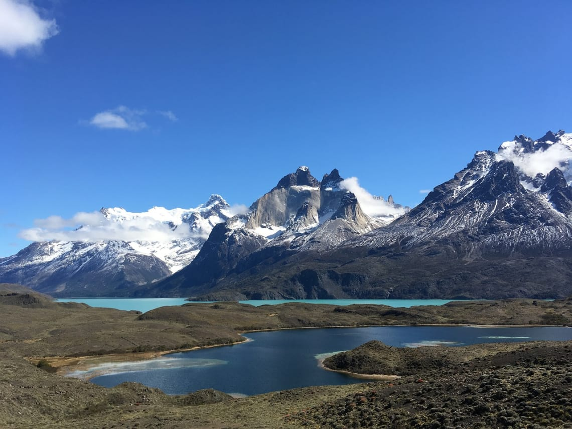 Torres del Paine, Magalhães, Chile.