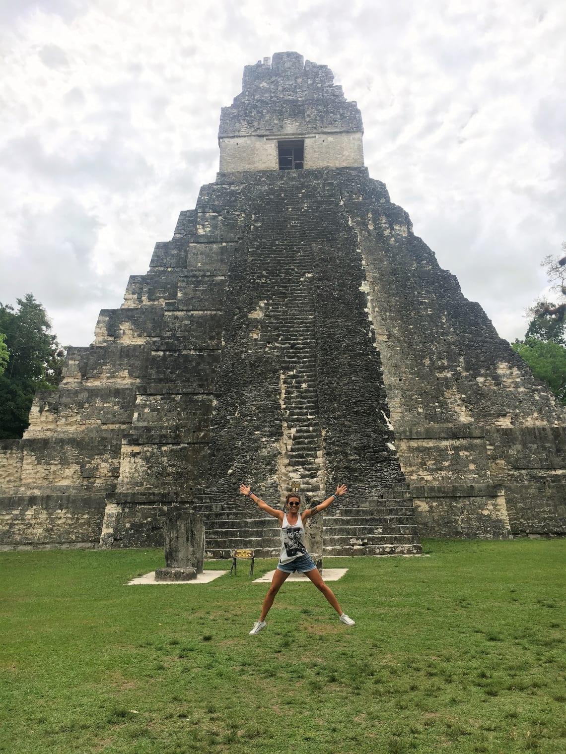 Ruínas Mayas em Tikal, Guatemala