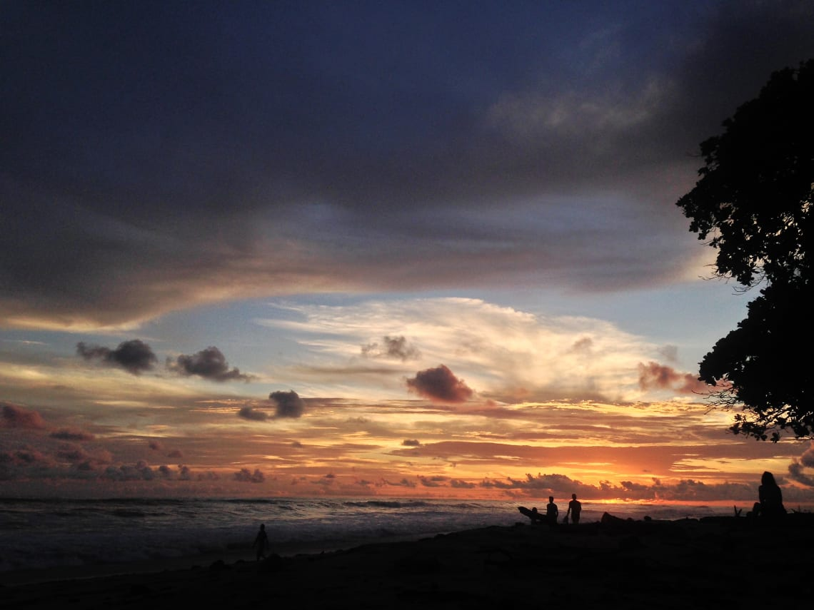 Pôr do sol em Santa Teresa, Costa Rica