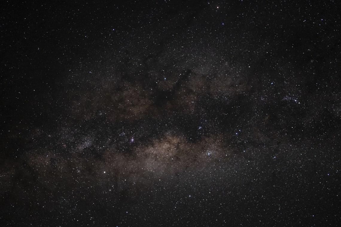 Vía Láctea desde el Parque Nacional Amboseli.