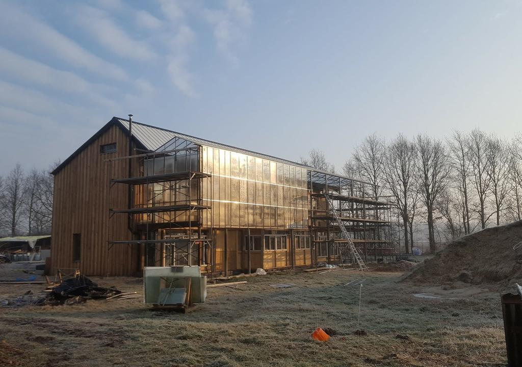 Comunidade colaborativa na Holanda que está construindo uma casa com princípios renováveis