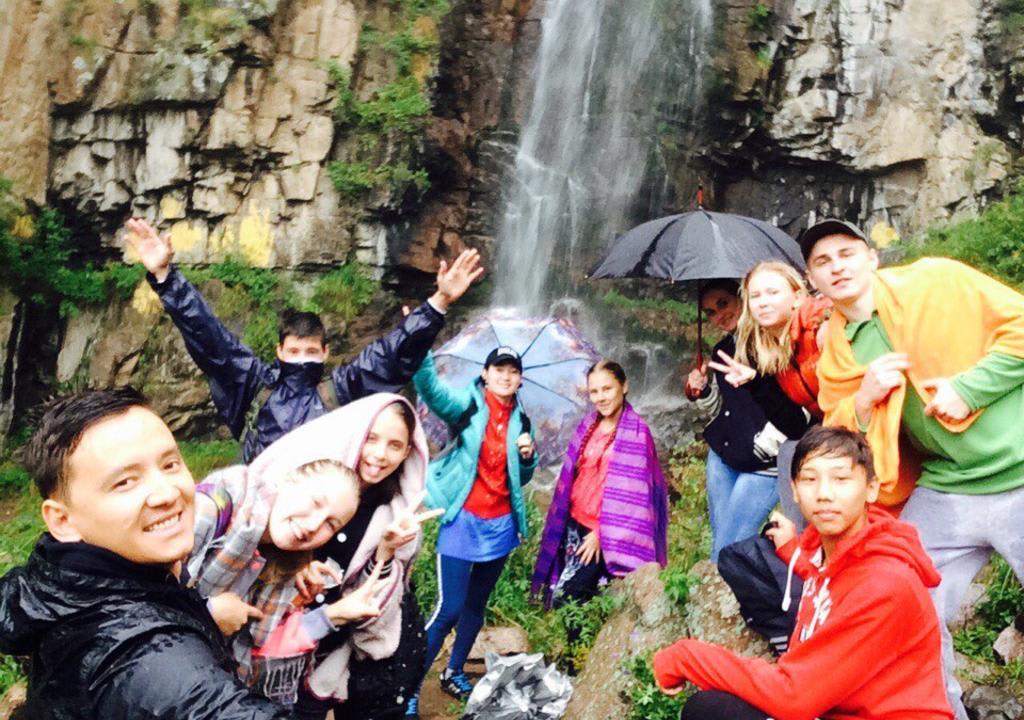 Voluntário no Cazaquistão, no continente asiático