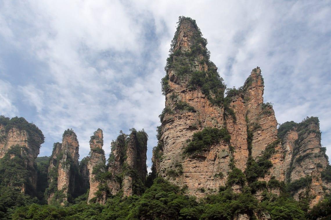 Parque no continente asiático considerada Patrimônio Mundial da UNESCO