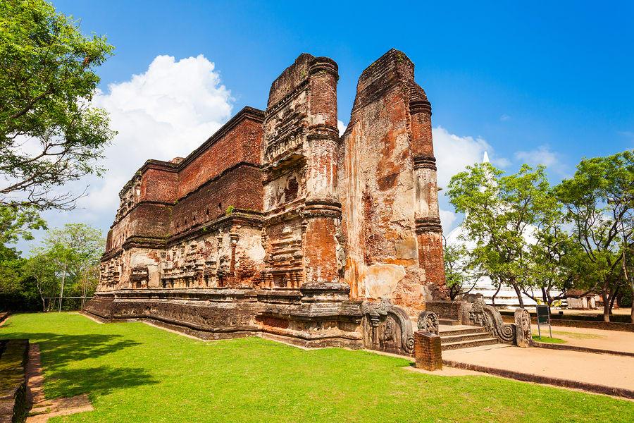 Ruínas da cidadePolonnaruwa