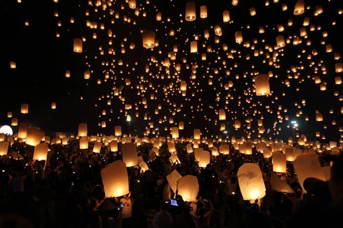 Evento que acontece no continente asiático, na Tailândia