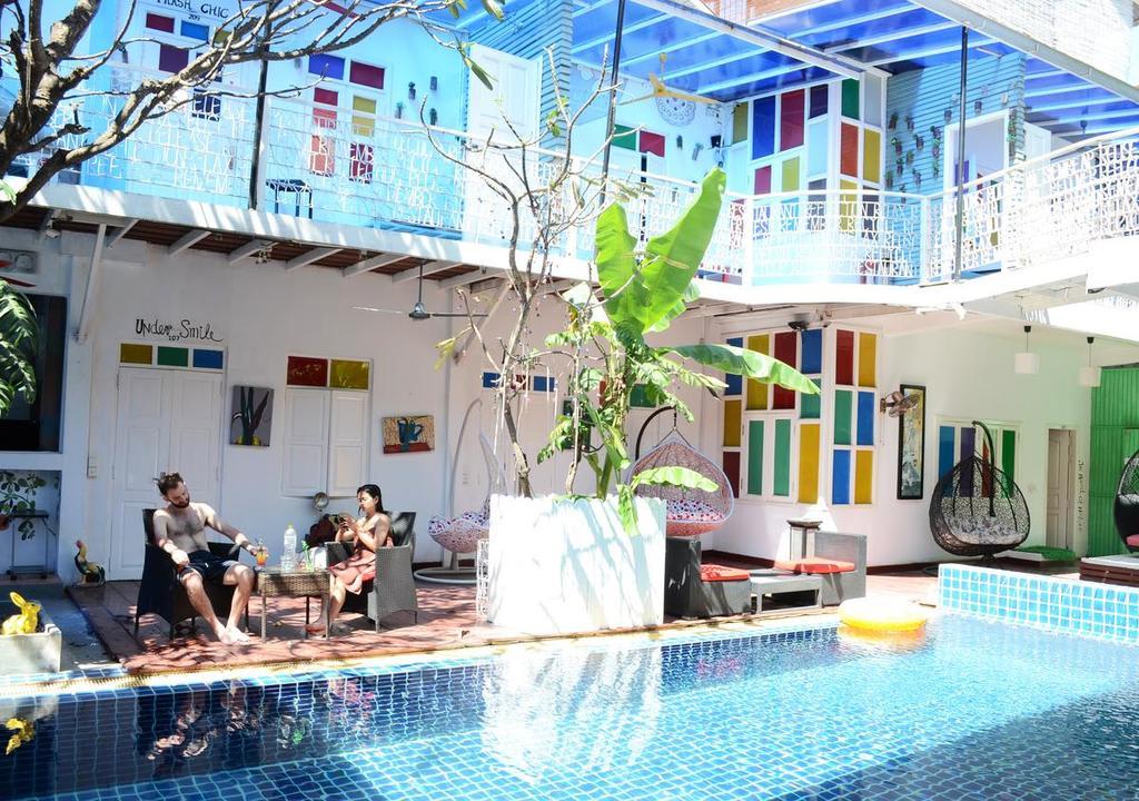 Hostel para voluntariar no Camboja
