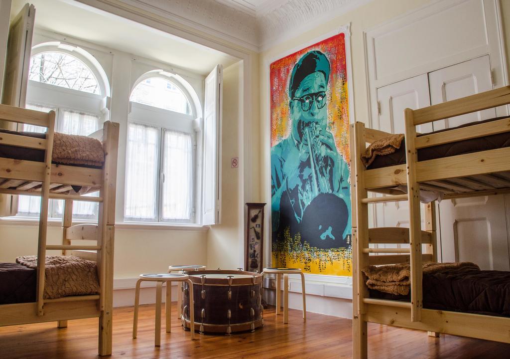 Hostel na Europa: Music Hall, em Lisboa.