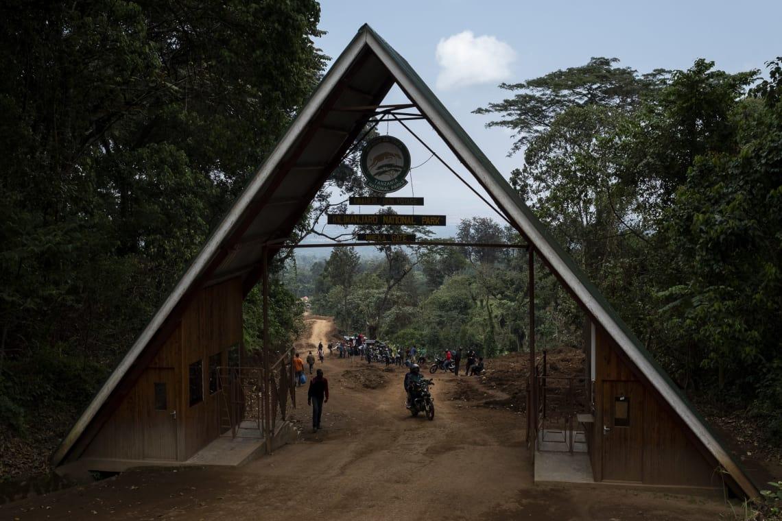 Kilimanjaro: hacer el trekking más alto de África - Worldpackers - entrada campamento base del kilimanjaro