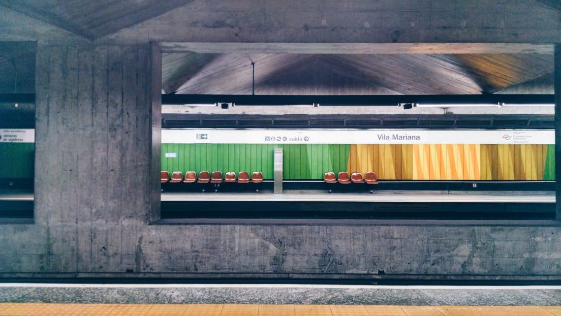 Lugares para viajar solo: Sao Paulo e tu metro y un servicio de autobuses de calidad