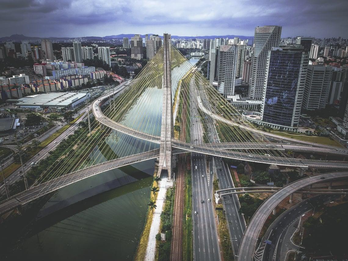 Sao Paulo es una ciudadcatalogada como una Ciudad Global