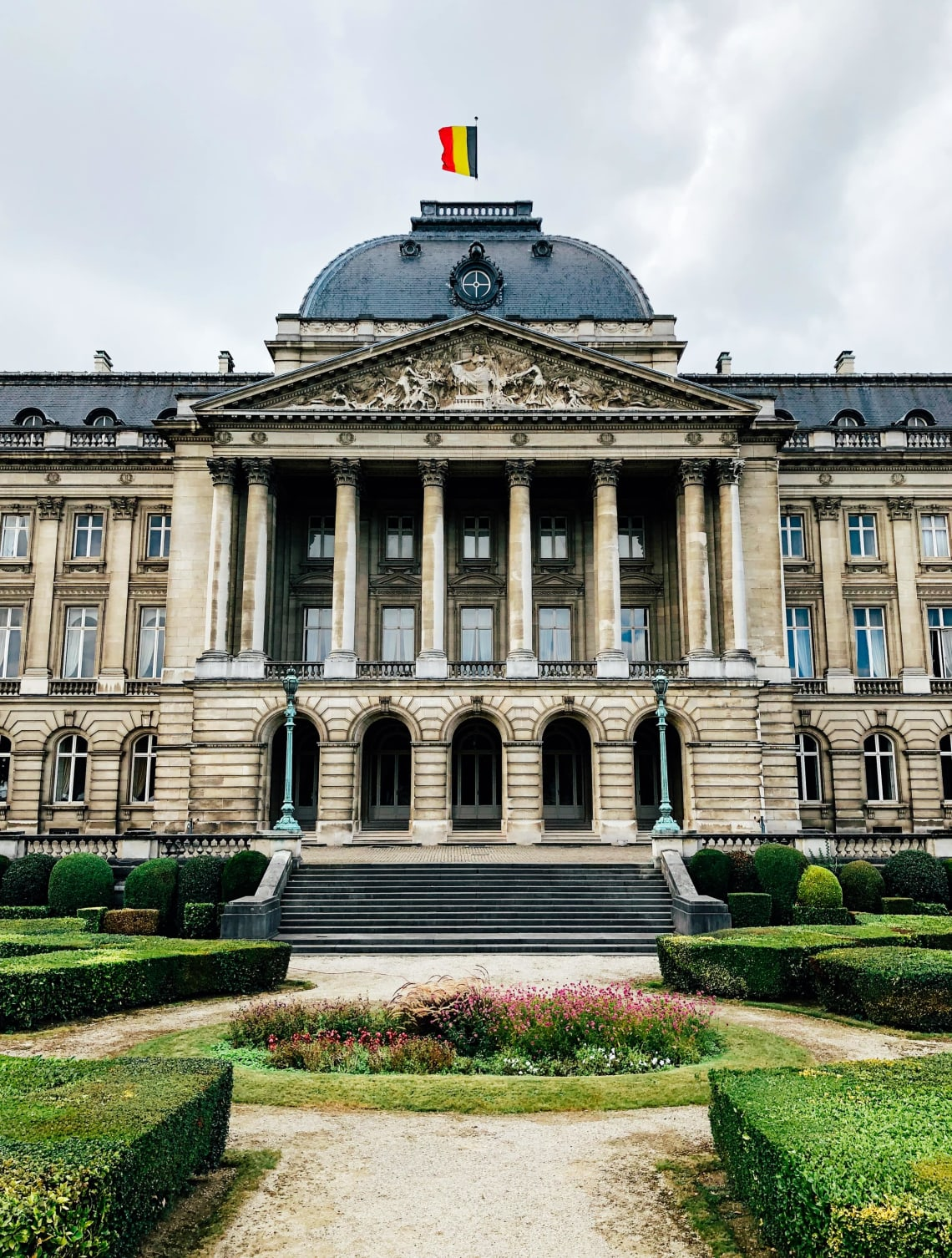Places to visit in Brussels: Royal Palace