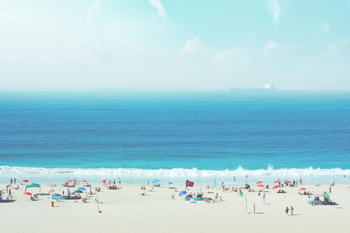 Copacabana, Rio de Janeiro, Brazil, South America
