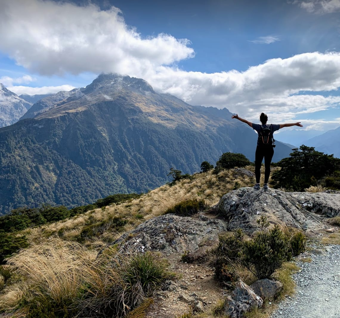 Solo female traveler in New Zealand