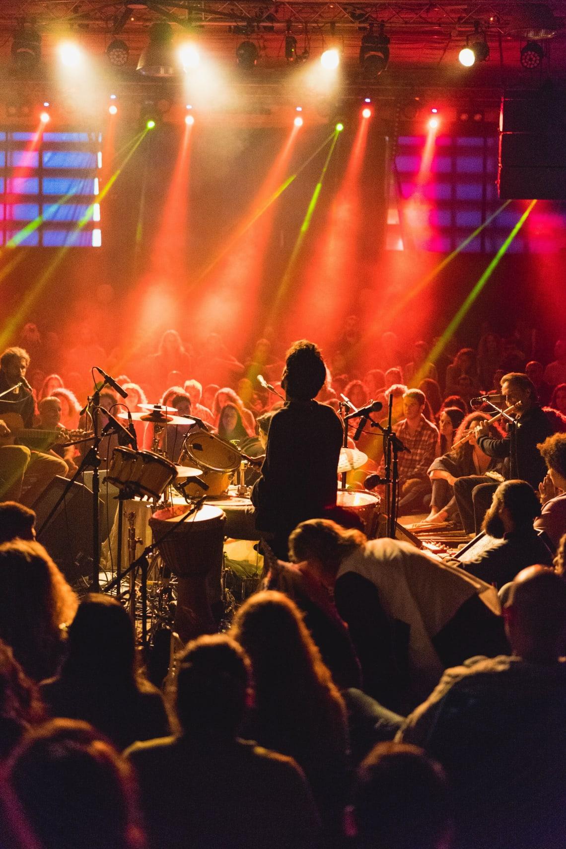 Concert, Abraham Hostel, Tel Aviv, Israel